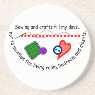Sewing & Crafts Coaster