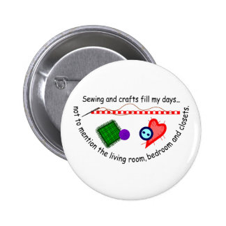 Sewing & Crafts Pinback Button