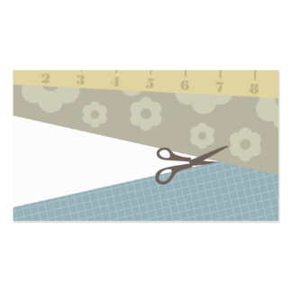 sewing crafts scissors measuring tape business car business card