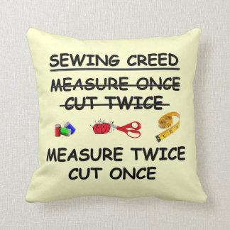 SEWING CREED American MoJo Pillow
