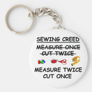 SEWING CREED Keychain