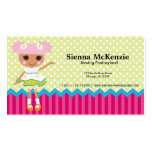 Sewing doll business cards