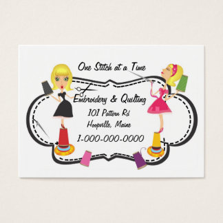 Sewing & Embroidery Business Card