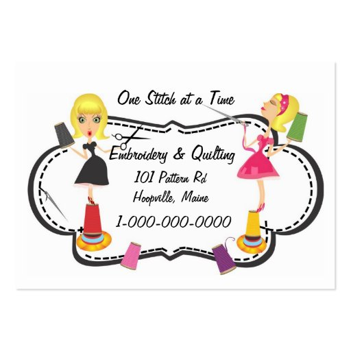 Embroidery business card templates bizcardstudio sewing embroidery business card colourmoves