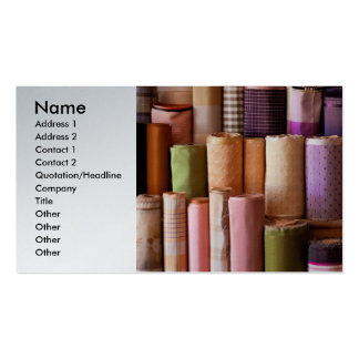 Sewing - Fabric Double-Sided Standard Business Cards (Pack Of 100)