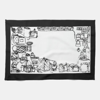Sewing Fabric Home Decor American MoJo Kitchen Tow Hand Towels