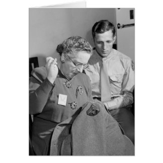 Sewing for the Cause, 1943 Card