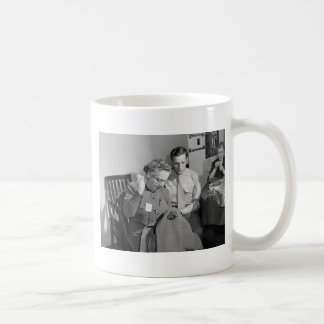 Sewing for the Cause, 1943 Classic White Coffee Mug