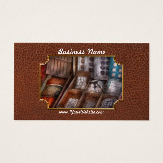 Sewing - Fresh buttons for sale Business Card
