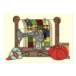 Sewing Gift Enclosure Seamstress Card Business Card Templates