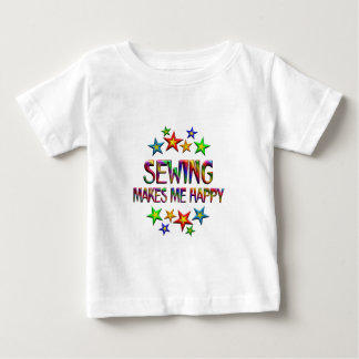 Sewing Happy Baby T-Shirt