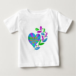 Sewing Happy Heart Baby T-Shirt