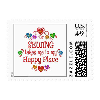 Sewing Happy Place Postage