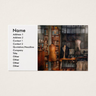 Sewing - Inudstrial - Quality Linens Business Card