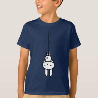 Sewing involving the rabbit/hanging T-Shirt