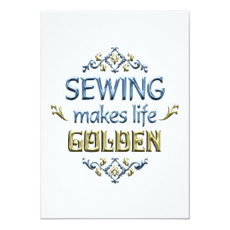 SEWING is Golden Card