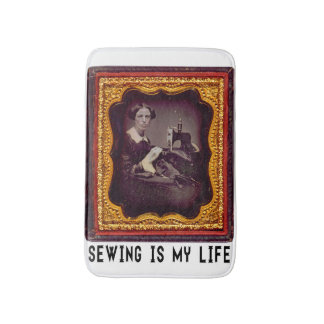 Sewing Is My Life Bathroom Mat