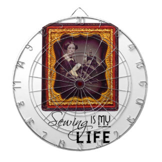 Sewing Is My Life Dartboard
