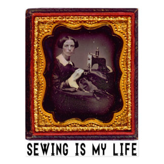 Sewing Is My Life Postcard