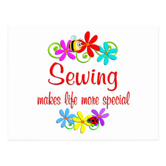 Sewing is Special Postcard