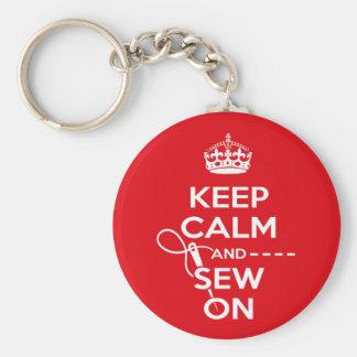 Sewing Key Ring Keychain