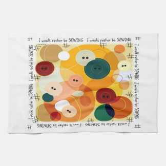 Sewing Kitchen Towel