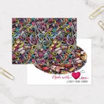 Sewing Knitting Enclosure Card Version 1
