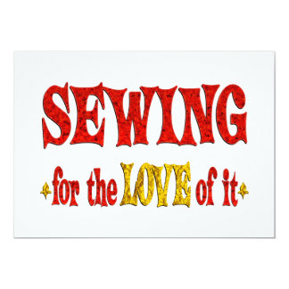 Sewing Love Card