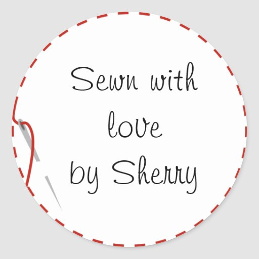 Sewing Love Stickers