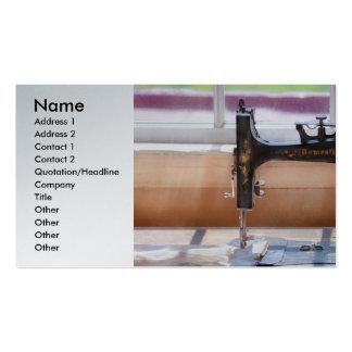 Sewing Machine - A stitch in time Business Card