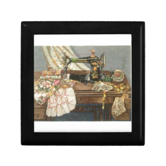 Sewing Machine and Dress Gift Box