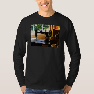 Sewing Machine and Lamp T-Shirt