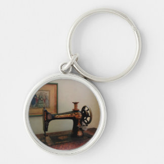Sewing Machine and Lithograph Key Chains