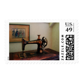 Sewing Machine and Lithograph Postage