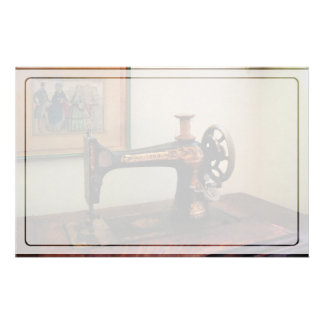 Sewing Machine and Lithograph Stationery