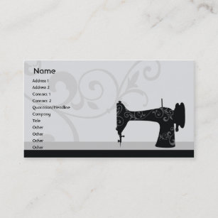 Sewing business cards templates zazzle sewing machine business business card colourmoves