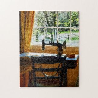 Sewing Machine By Window Jigsaw Puzzles
