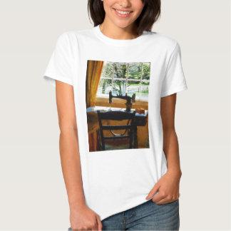 Sewing Machine By Window T-Shirt