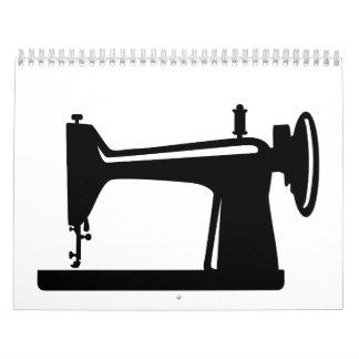 Sewing machine calendar