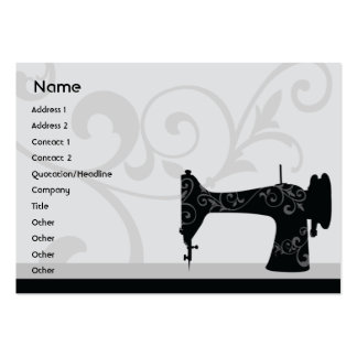 Sewing Machine - Chubby Large Business Cards (Pack Of 100)