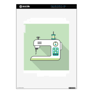 Sewing Machine Decal For iPad 2