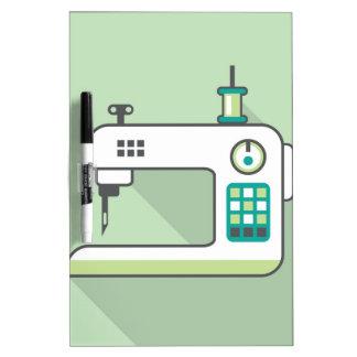 Sewing Machine Dry-Erase Board