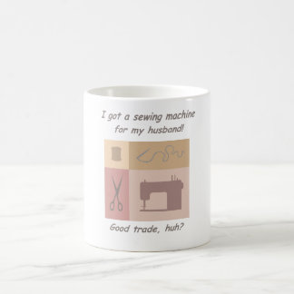 Sewing machine for my husband mugs