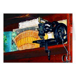 Sewing Machine for Sale Greeting Card
