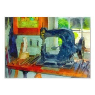 Sewing Machine in Harness Room Card
