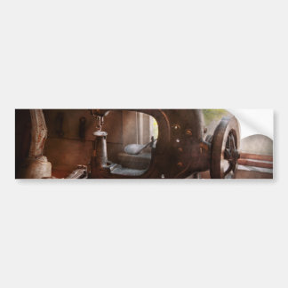 Sewing Machine - Leather - Saddle Sewer Bumper Sticker