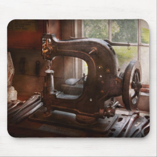 Sewing Machine - Leather - Saddle Sewer Mouse Pad