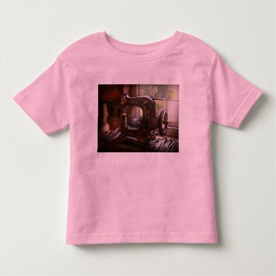 Sewing Machine - Leather - Saddle Sewer Toddler T-shirt