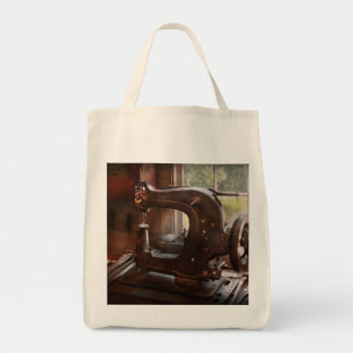 Sewing Machine - Leather - Saddle Sewer Tote Bag