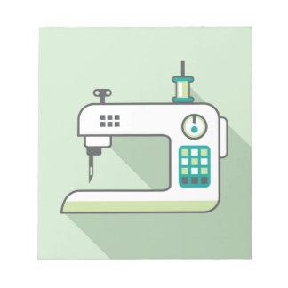 Sewing Machine Notepad